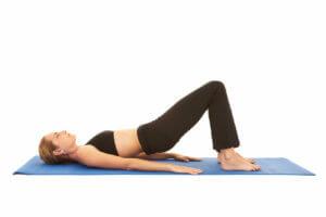 Beckenbodenübung Rückenlage